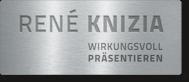 René Knizia – Redner, Moderator, Autor